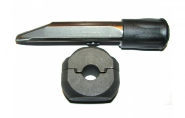 Гарант Блок Люкс 720 для автомобиля Chevrolet Lova / 2006 - 2008 / диаметр рулевого вала 17 мм /