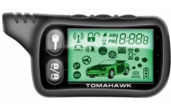 Брелок автосигнализации Tomahawk TZ 9010 и Tomahawk SL 950