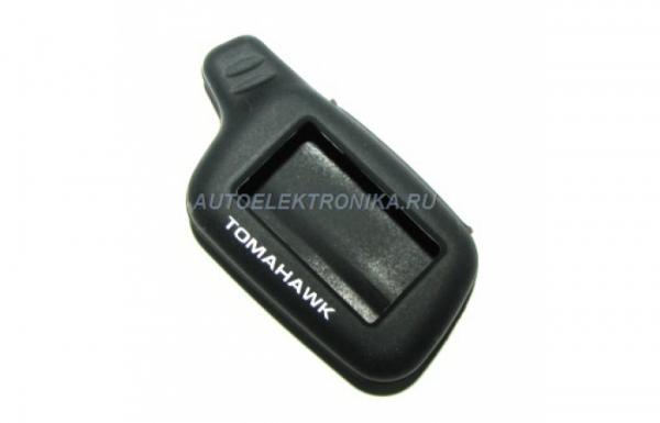 Чехол силиконовый брелока Tomahawk X5 ( черный )