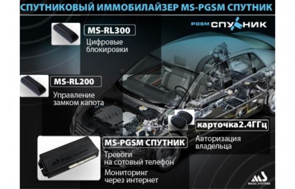 Спутниковый иммобилайзер MS-PGSM Спутник