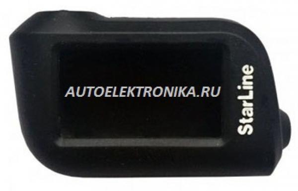 Чехол силиконовый брелока StarLine A36, A39, A63, A66, A93, A96 (черный)
