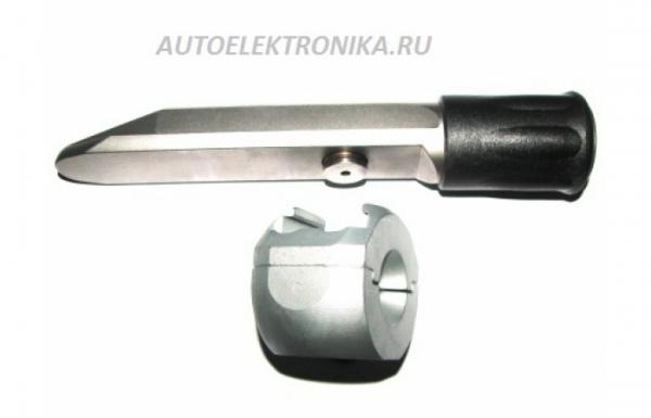 Гарант Блок Люкс 397 для автомобиля Hyundai ix55 / 1-е пок. / 2009 - 2014 / рулевой вал d=14,7 мм /