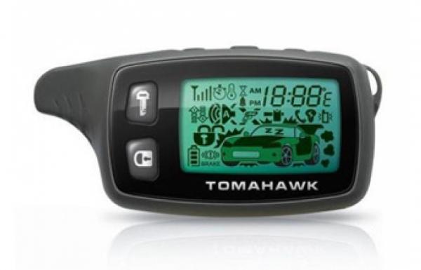 Брелок автосигнализации Tomahawk TW 9000 и TW 9010 (широкая антенна)
