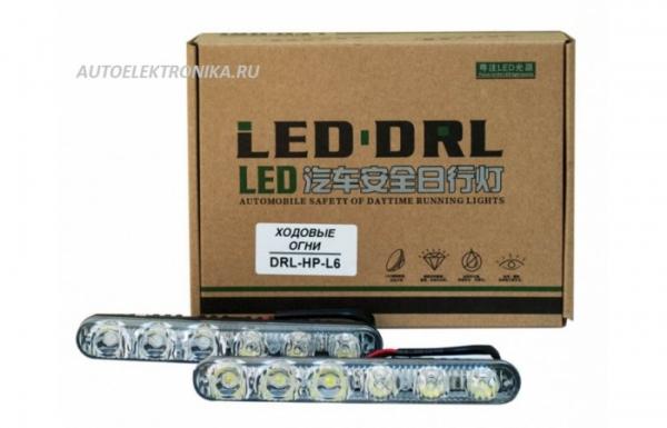 Комплект дневных ходовых огней DRL-HP-L6