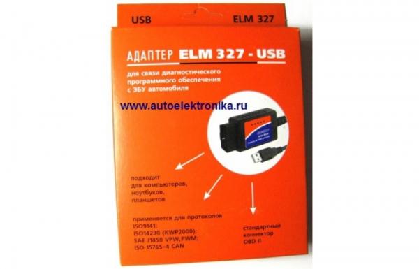 Адаптер ELM 327-USB
