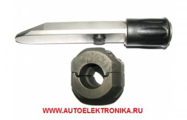 Гарант Блок Люкс 334 для автомобиля Nissan Terrano / 2014 - 2017 / Круглый рулевой вал /