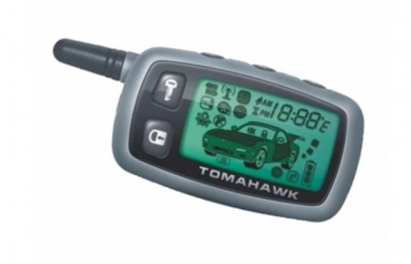 Брелок автосигнализации Tomahawk TW 9000 и TW 9010 (узкая антенна)
