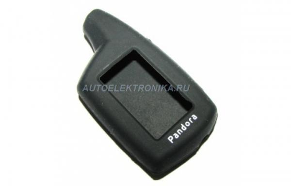 Чехол силиконовый брелока Pandora DXL3000 - DXL3700, Pandora DX40/DX50, LX 3030/3050/3055/3257/3297 ( черный )
