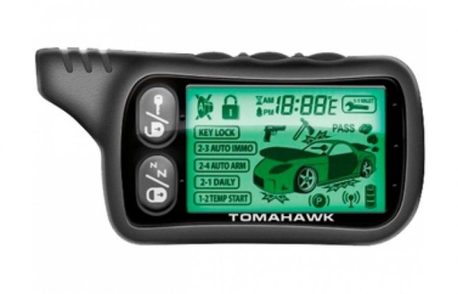 Брелок автосигнализации Tomahawk TZ 9020 и TZ 9030