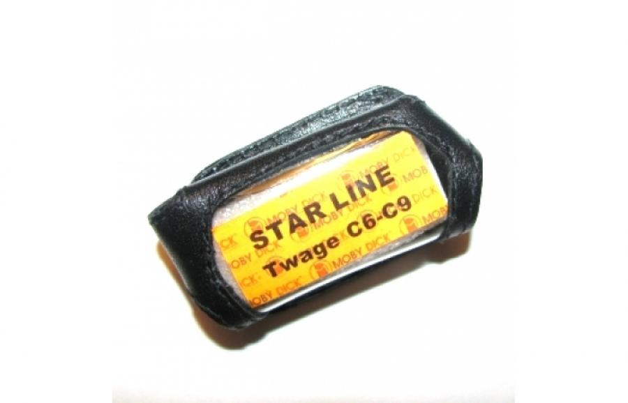 Чехол на кнопке ЖК-брелока StarLine Twage C6 / C9 ( 2-й вариант )
