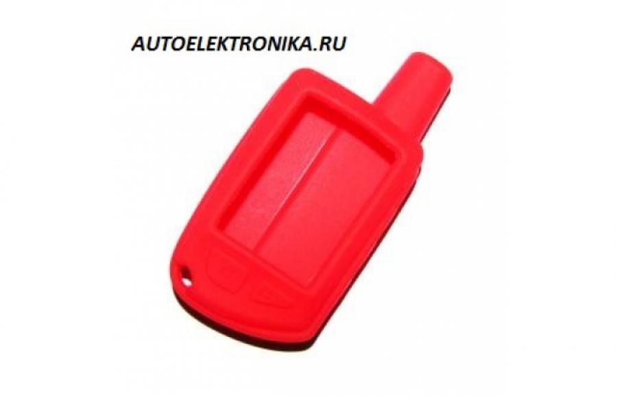 Чехол силиконовый брелока Сталкер-600LAN3 (красный)