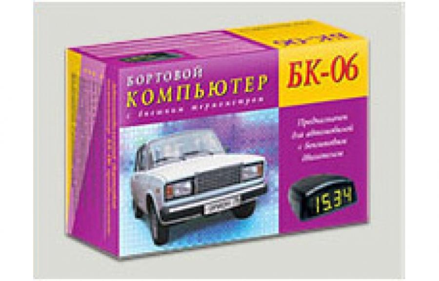 Автомобильный бортовой компьютер БК-06 (бензин)
