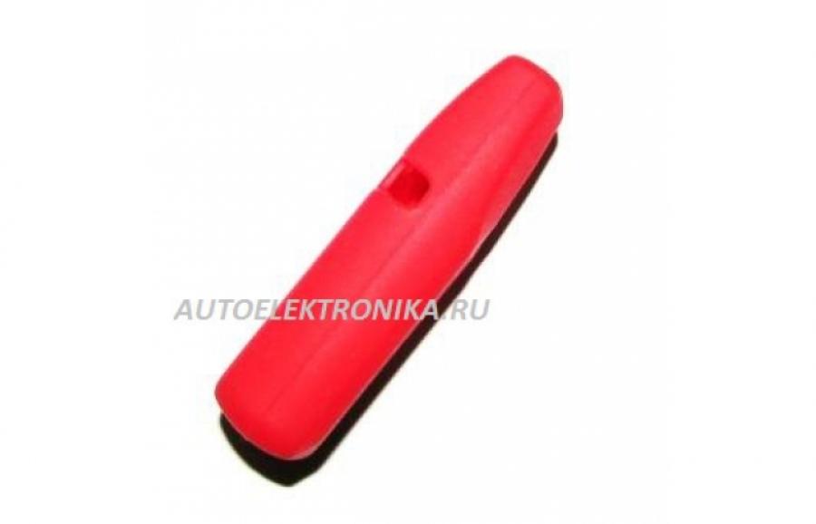 Чехол силиконовый брелока Pandora DXL1870i,  DXL2500i (красный)