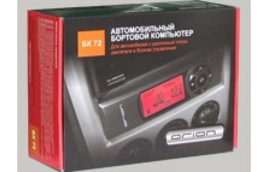 Компьютер БК-72 (в штатное 1-DIN место)