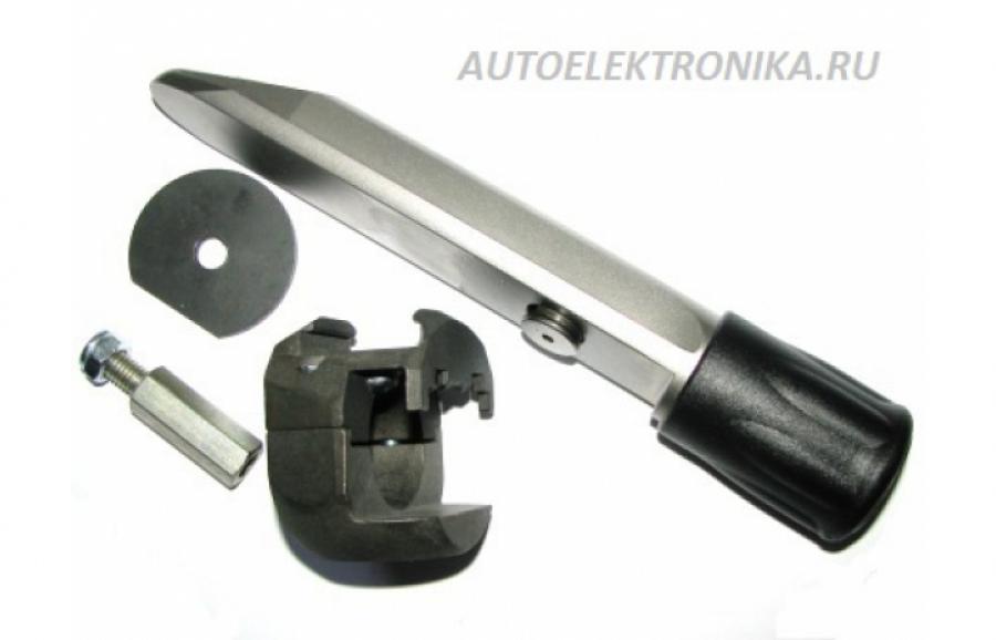 Гарант Блок Люкс 019 для автомобиля Renault Megan III / 3-е поколение / 2009 - 2013 / рулевой вал 30 мм /