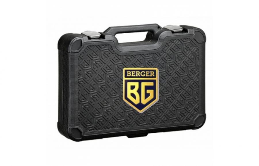 Berger BG-055-14, универсальный набор инструментов (55 предметов, кейс)