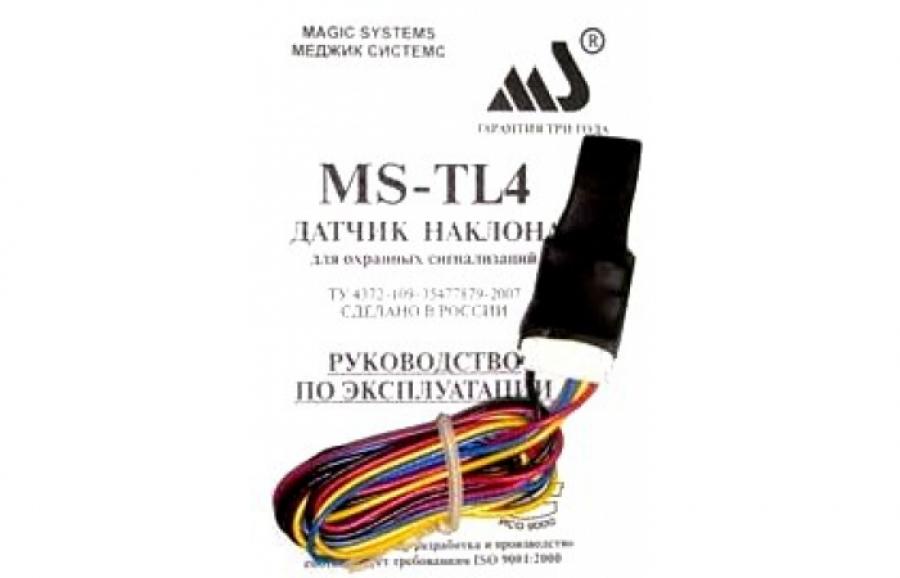 Датчик наклона MS-TL4 ( MS-TL4s )