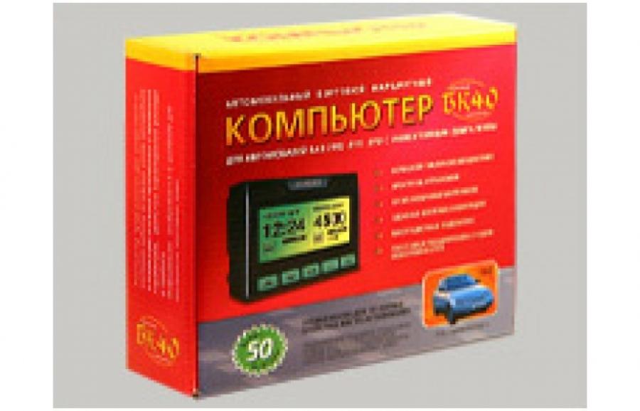 Бортовой компьютер БК-40 (ВАЗ 2110-12, инжектор)