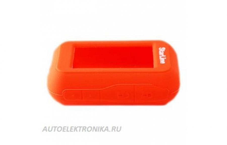 Чехол силиконовый брелока StarLine E60/E61/E63/E65, StarLine E90/E91/E93/E95 (красный)
