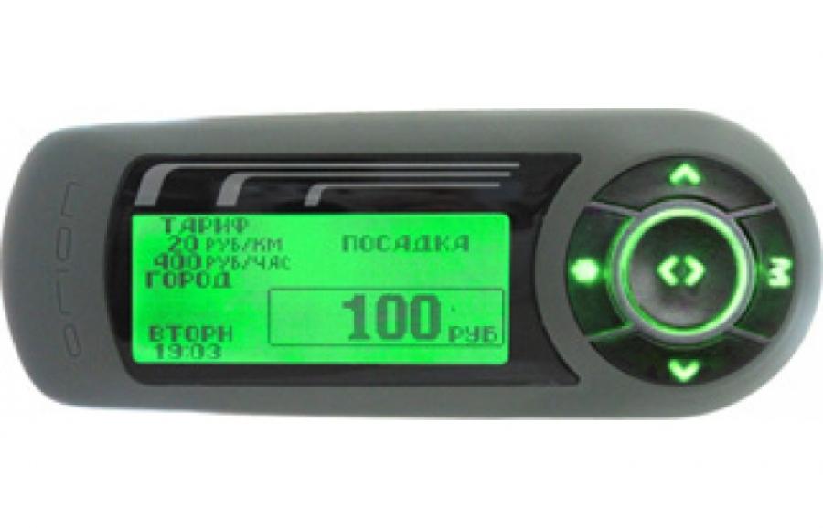 Таксометр TX-01 (Производство НПП ОРИОН СПб)