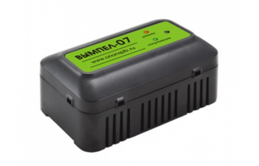 Зарядное устройство Вымпел-07 (12в для герметичных гелевых акб, 2 режима)