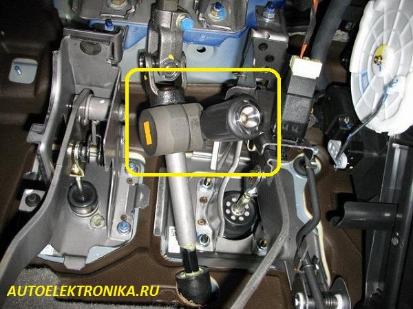 Ремонт рулевой рейки на шевроле реззо